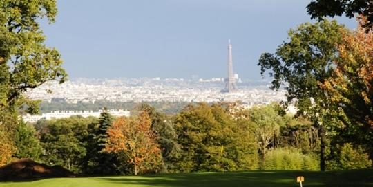 Golf de Saint-Cloud - Tour Eiffel