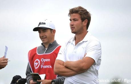 Vincent Raimbault cadet de Mathieu Decottignies Lafon à l'Open de France 2016