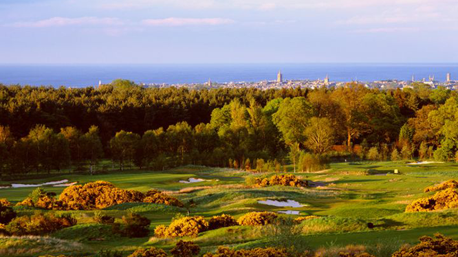 St Andrews golf & city